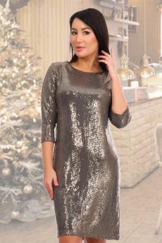 Золотистое платье Натали