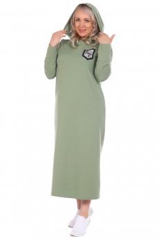 Платье с рукавами-митенками ElenaTex